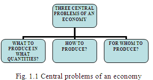 Central Problems of Economics